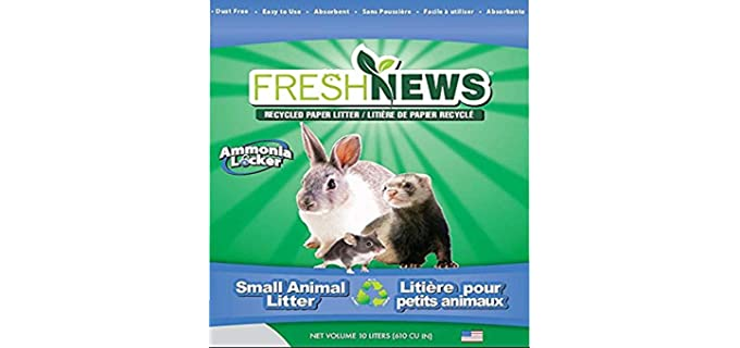 Fresh News Paper Small Animal Litter - Litter for Rabbits