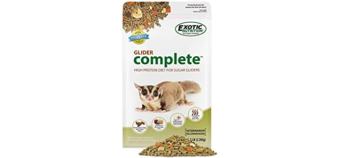 Exotic Nutrition Glider Complete - Affordable Sugar Glider Food
