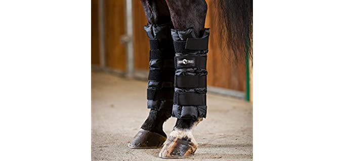 Finn-Tack Ice Wrap Pair - Horse's Ice Boots