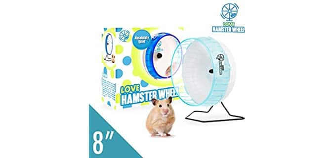 Love Hamster Comfort Exercise Wheel - Hedgehog's Wheel