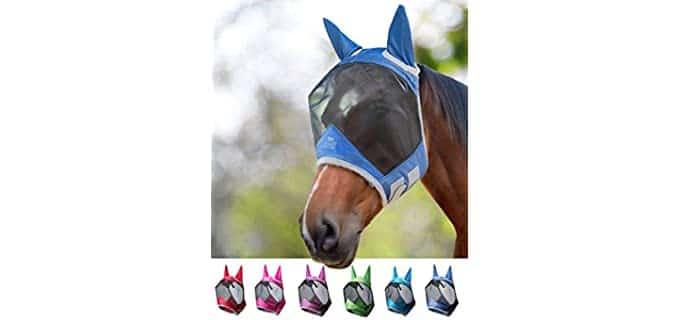 Harrison Howard CareMaster Pro Luminous Fly Mask - Horse's Fly Mask