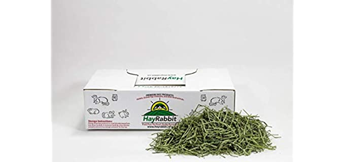 HayRabbit Premium 2nd Cut Timothy Grass Hay - Hay for Rabbits