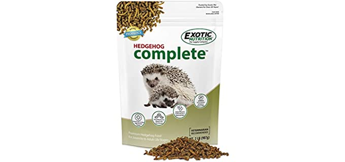 Exotic Nutrition Hedgehog Complete Food - Food for Hedgehogs