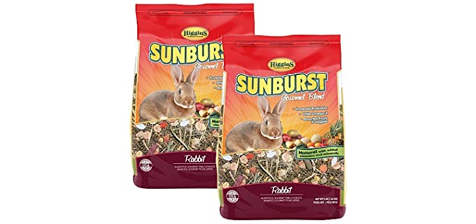 Higgins Sunburst Gourmet Rabbit Food Mix - Food For Rabbits
