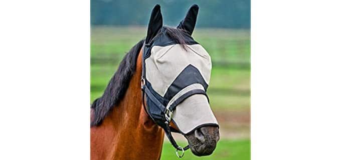 Horze Extra Long Nose Fly Mask - Horse's Fly Mask