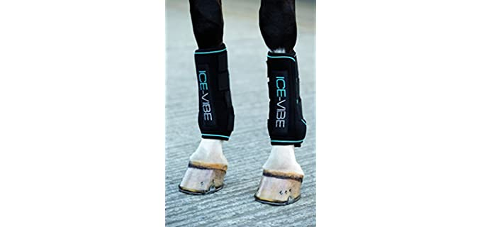 ICE-VIBE Horseware Boots - Ice Boot for Horses