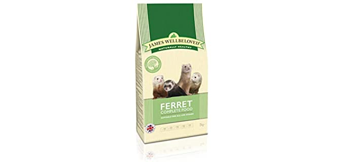 James Wellbeloved Complete - Dry Food for Your Ferret