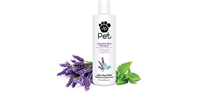 John Paul Pet Lavender Mint Shampoo - Scented Dog Shampoo