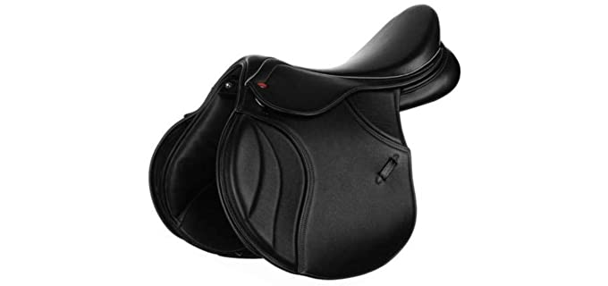 KLS All Purpose - Jumping Tree Wooden English Saddle
