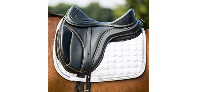 Max Leather Pupanels - Leather Saddle