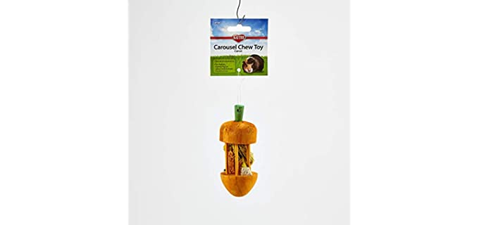 Kaytee Carrot Carousel Chew Toy - Guinea Pig Toy