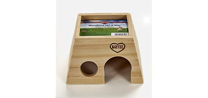 Kaytee Woodland Get-A-Way - Chinchilla's Toy