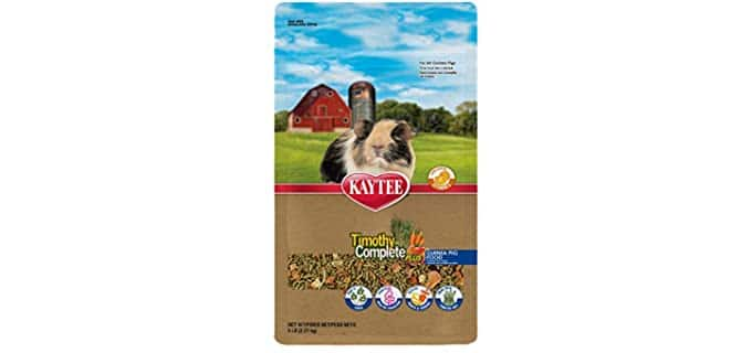 Kaytee Timothy Complete Plus Guinea Pig food - Food for Guinea Pigs