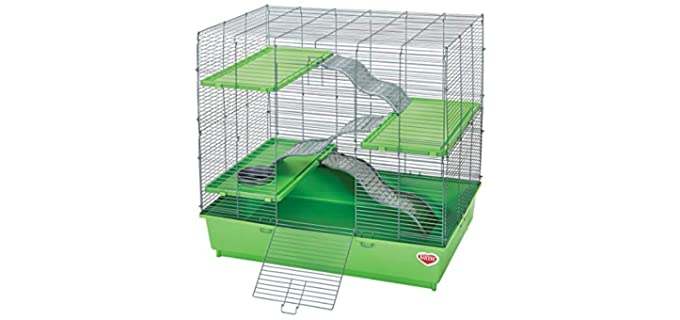 Kaytee My First Home Multi-Level Chinchilla Cage - Cage for Rats