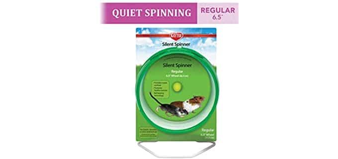 Kaytee Silent Spinner Exercise Wheel - Wheel for Hamsters