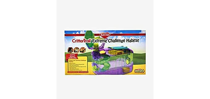 Kaytee Critter Trail X - Hamster Cage