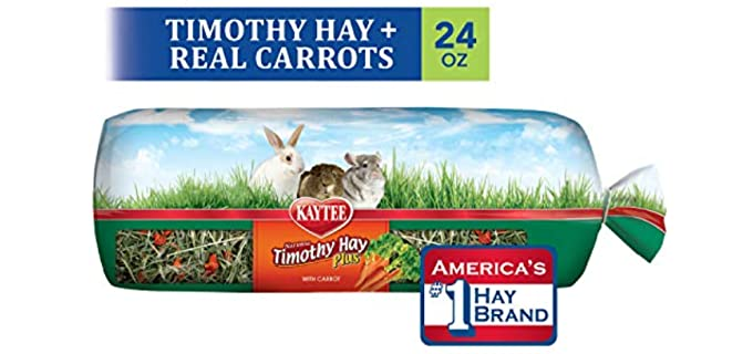 Kaytee Timothy Hay Carrot Flavour - Healthy Hay for Rabbits