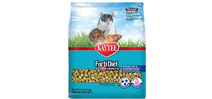 Kaytee Forti Diet Pro Health Small Animal Food for Mice and Rats - Hamster's Food