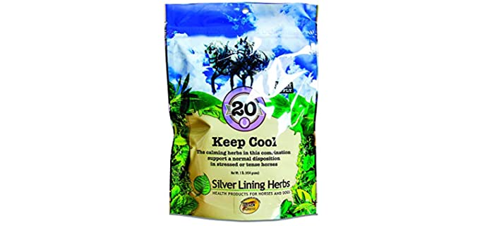 Silver Linings Herbs Keep Cool - Horse Calming Supplements