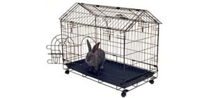 Kennel-Aire A Frame Bunny House - Rabbit Cage Indoor