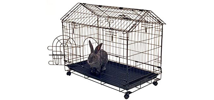 Kennel-Aire A-Frame Bunny House - Cage for Hedgehogs