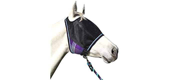 Kensington UViator Protective Fly Mask - Horse Fly Mask