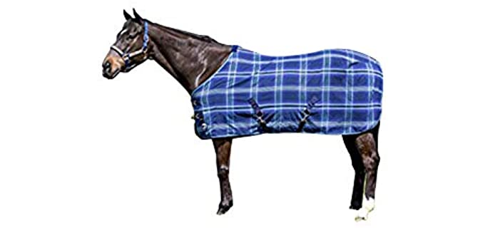 Kensington Products Poly Cotton Horse Blanket - Horse Fly Sheets