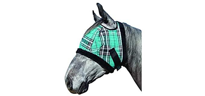 Kensington Fly Mask with Fleece Trim - Horse Fly Mask