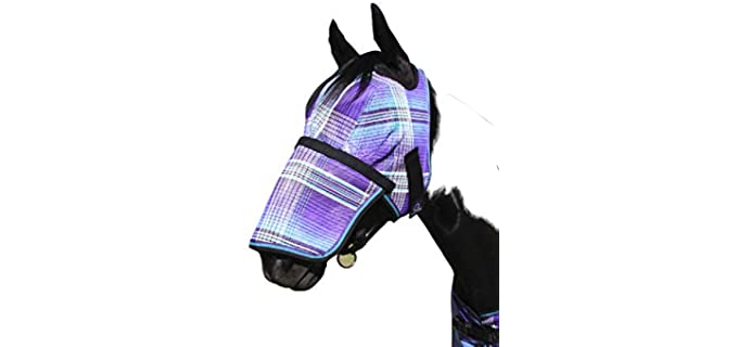 Kensington ignature Fly Mask with Removable Nose - Horse Fly Mask