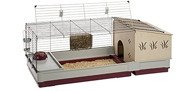 Ferplast Krolik 140 Plus Cage - Cage for Guinea Pigs