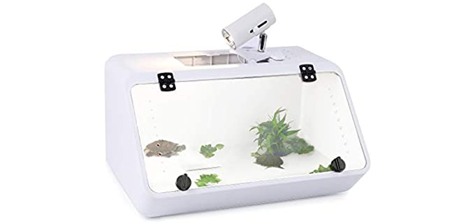 Calpalmy Store Large - Reptile Aquarium for Turtles