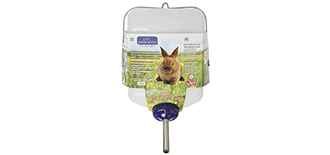 Lixit All-Weather Rabbit Water Bottle - Water Bottle for Rabbits