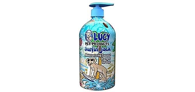 Lucy Pet All-Natural Shampoo for Dogs - Fragrant Dog Shampoo