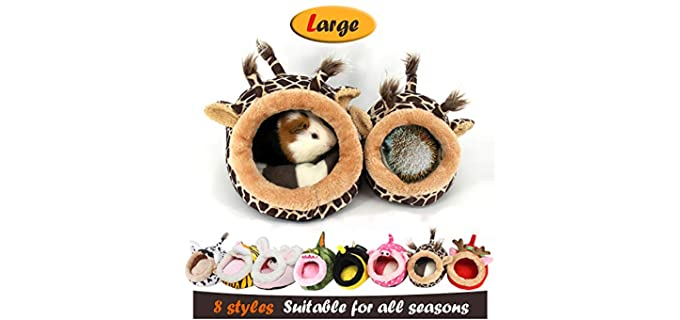 MYIDEA Warm Hedgehog Bed - Hedgehog Bedding