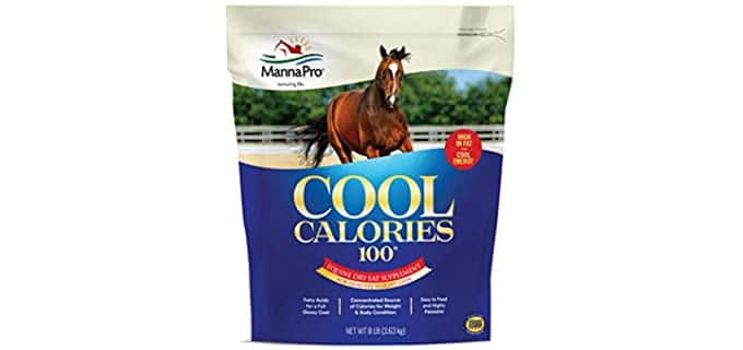 Manna Pro Cool Calories 100 Fat Supplement - Weight Boost Horse Feed