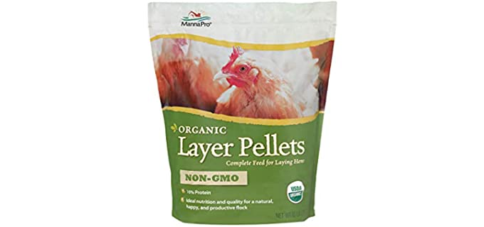 Manna Pro Organic Layer Pellets - Chicken Food