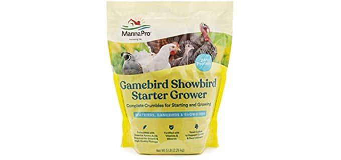 Manna Pro Starter - Grower Bird Food