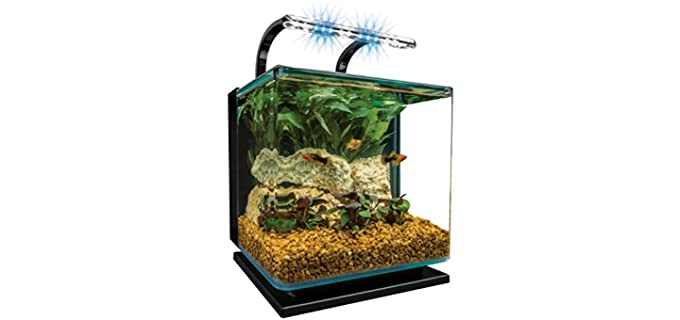 MarineLand Contour Glass Aquarium Kit - Hermit Crab Habitat