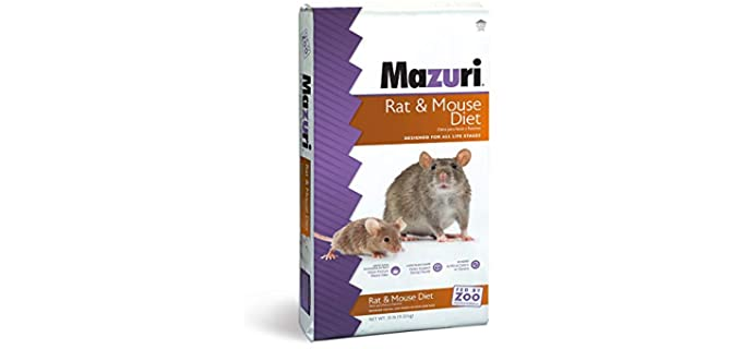Mazuri Rodent Ammonia-Reduction Diet Formula - Rat Food