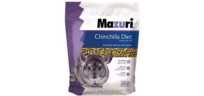 Mazuri Chinchilla Diet - Healthy Chinchilla Food