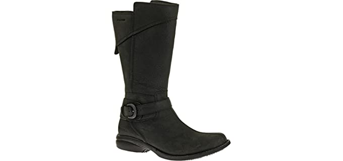 Merrell Women's Captiva Buckle-Down Waterproof Boot - Boots for Horse Riding