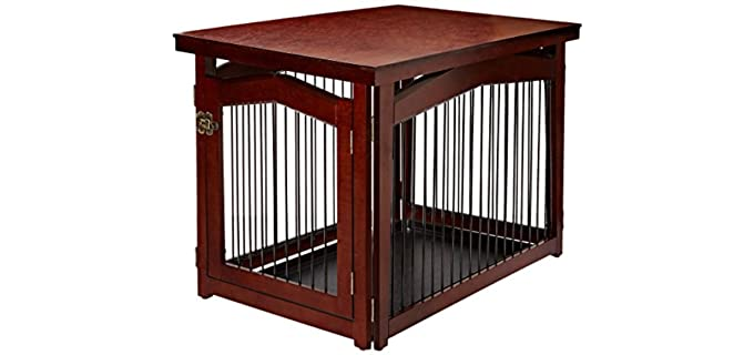 Merry Pet 2-in-1 Configurable Pet Crate - Crate for Puppies