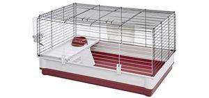 MidWest Homes for Pets Wabbitat Deluxe - Rabbit Cage Indoor