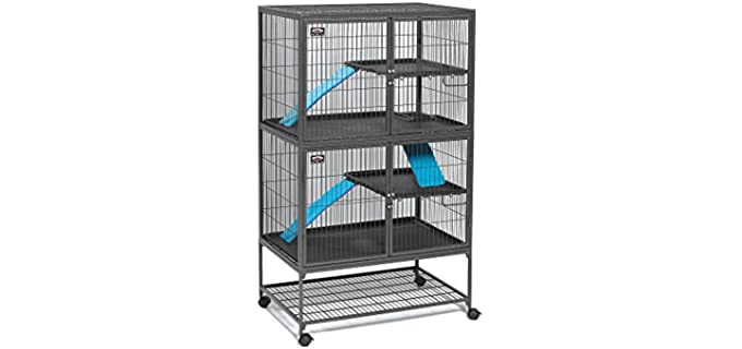 Midwest Deluxe Ferret Nation Double Unit - Top Rats Cage