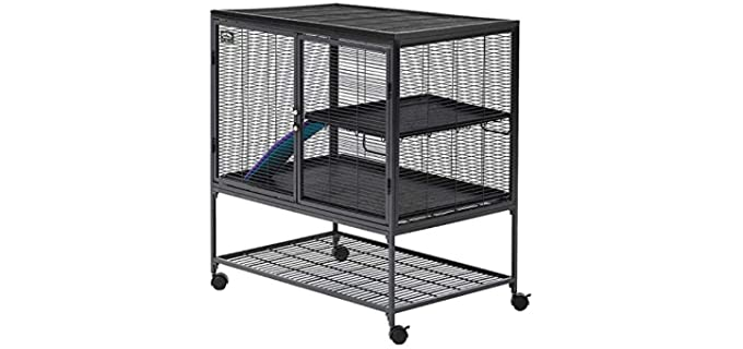 Midwest Deluxe Critter Nation Single Unit - Cage for Rats