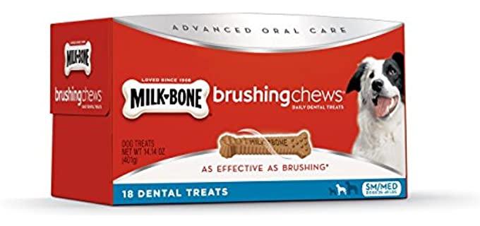 Milk-Bone Advanced Oral Care Dog Treats - Dog's Teeth Clean Chews