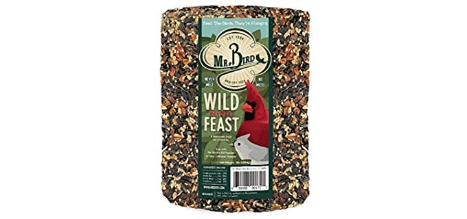 Mr. Bird Wild Bird Feast - Bird Seed Large Cylinder