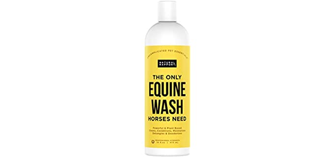 Natural Rapport Horse Shampoo and Conditioner - Shampoo for Horses