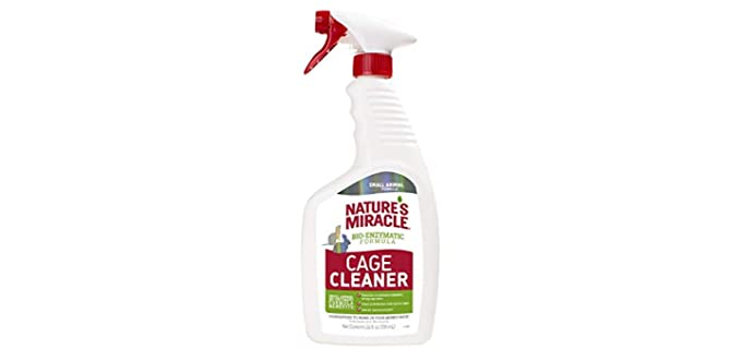 Nature's Miracle Small Animal Formula - Cage Cleaner for Hamsters