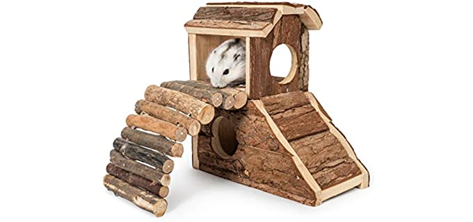 Niteangel Natural Living Mat House - Toy for Your Hamster